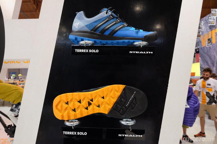 Adidas terrex Solo Farben Männer: blue/black // black/grey/white // green/black/orange Gewicht: 350g (bei UK-Größe 8,5)