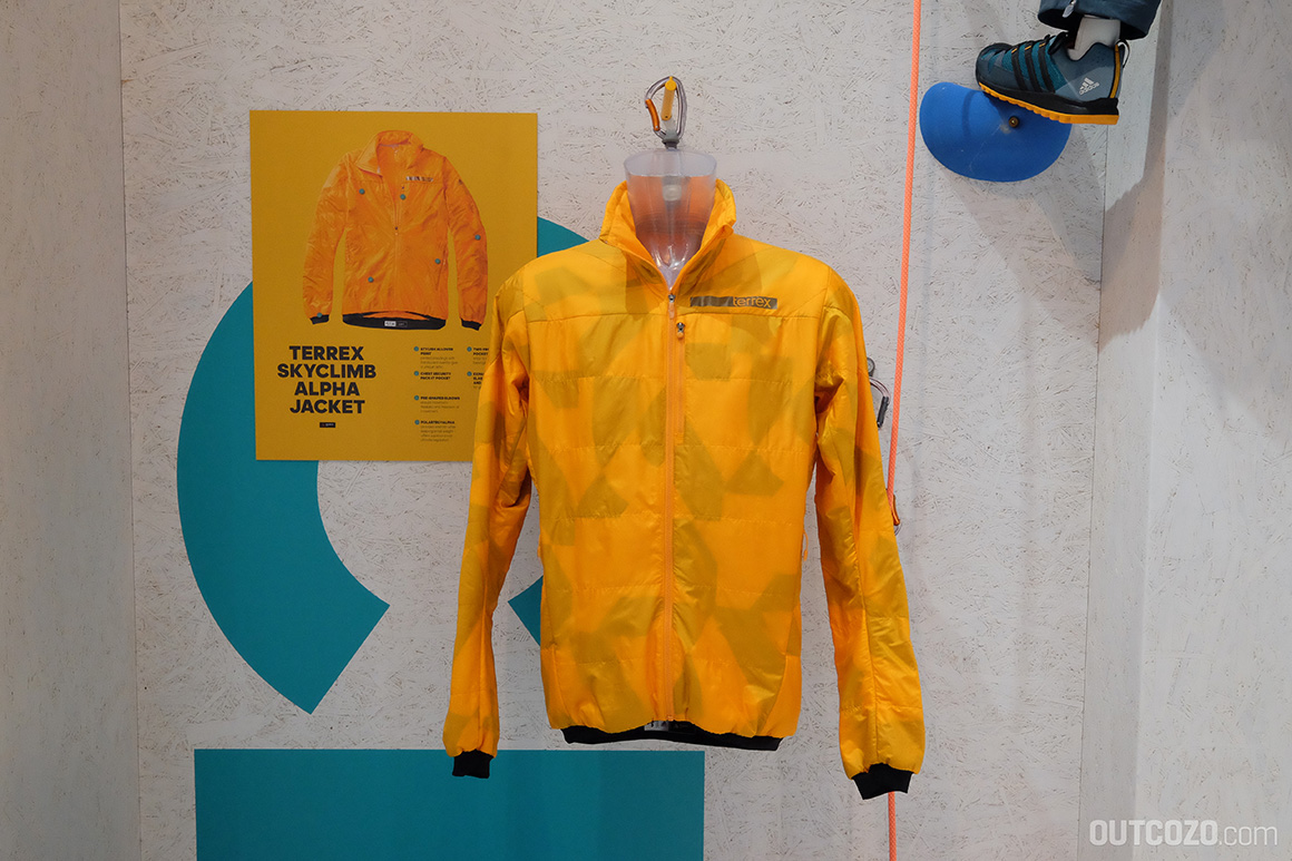 f7775cf00 Adidas Terrex Kollektion Adidas Terrex Skyklimb Alpha Jacket