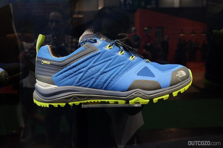 MEN'S ULTRA FASTPACK II GTX FARBEN: Blue Quartz / Fressia Yellow DURCHSCHNITTSGEWICHT: 313g pro Schuh (Herren Größe 41)