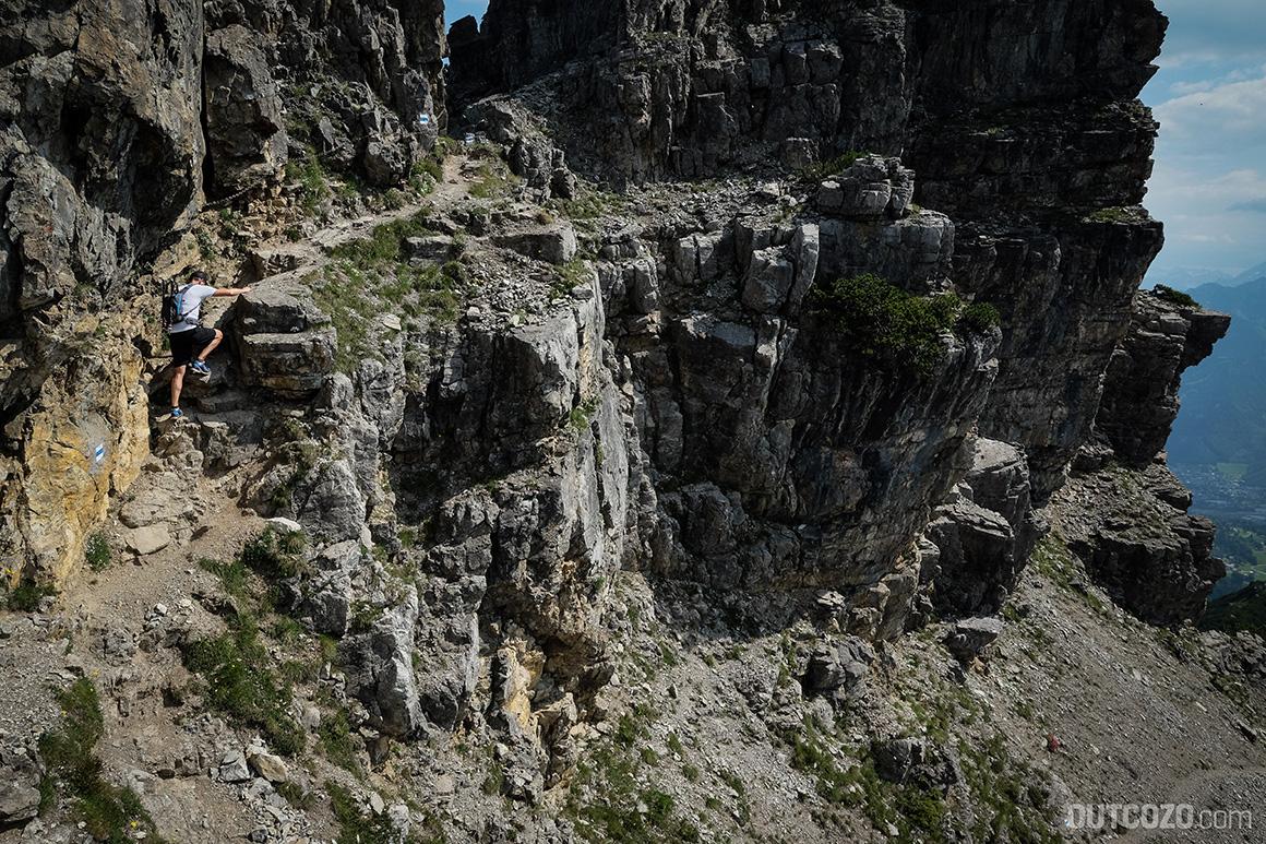 Kletterpassage Schillerkopf