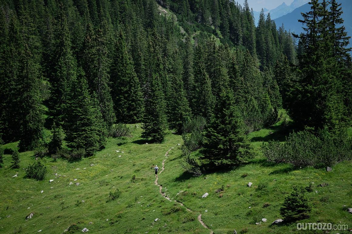 Trailrunning am Schillerkopf im Brandnertal