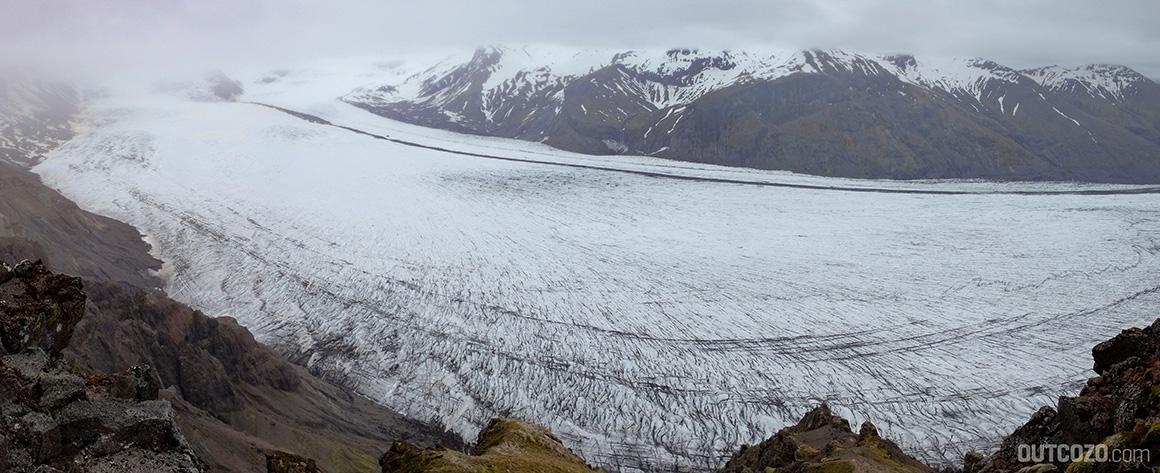 Skaftafellsjoekull Gletscherzunge