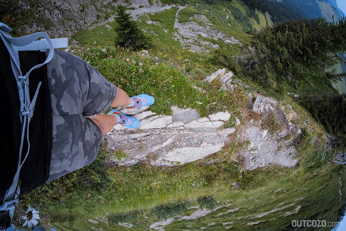 Löffelspitze ausgesetzter Grat