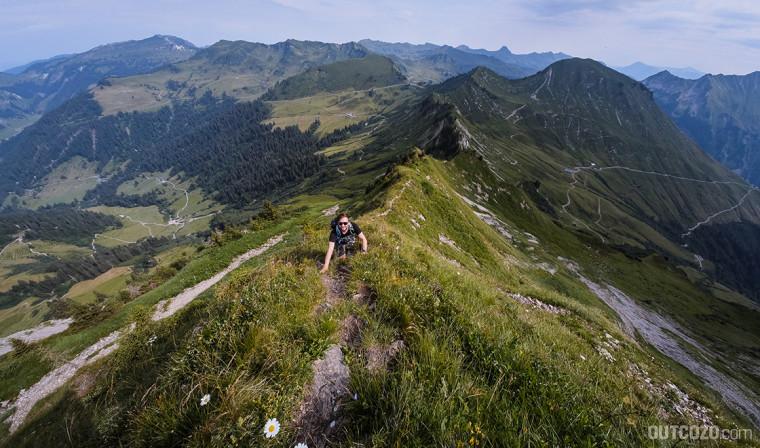 Löffelspitze Gipfelpassage