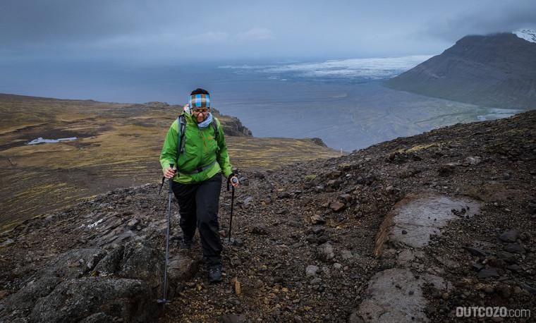 Ausblick Landschaft Skaftafell zum Morsárjökull