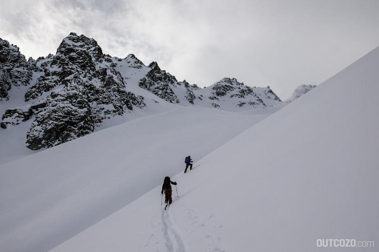 skitour kromerscharte spitzkehre