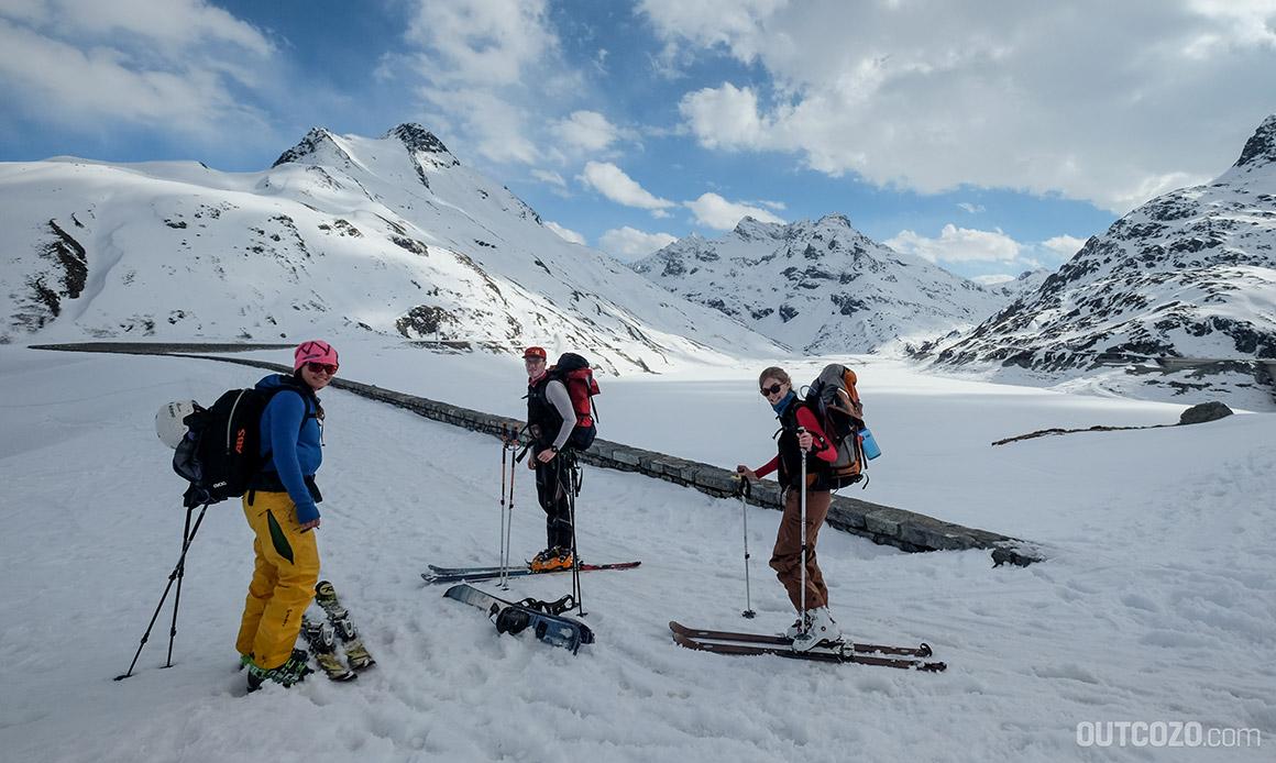 Bielerhöhe Stausee Skitour