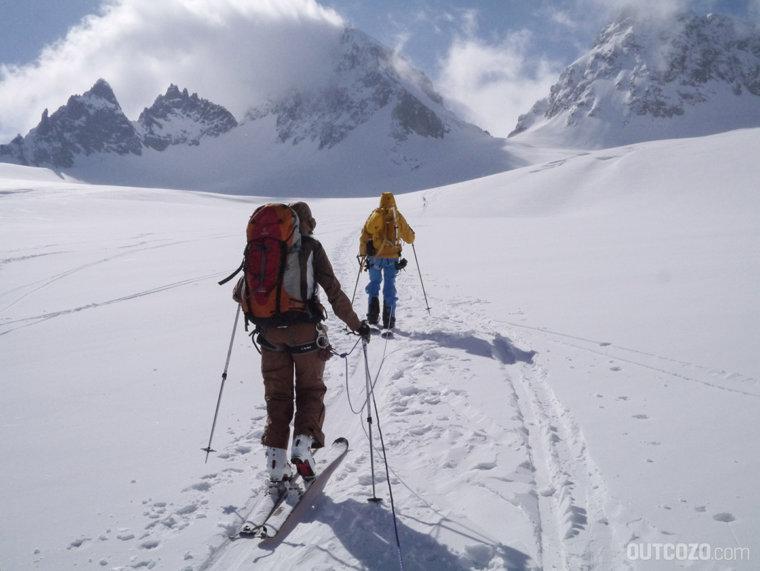 ochsentaler gletscher richtung buinluecke