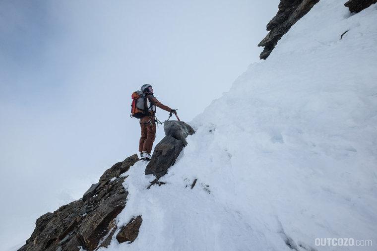 Kletterpassage Piz Buin
