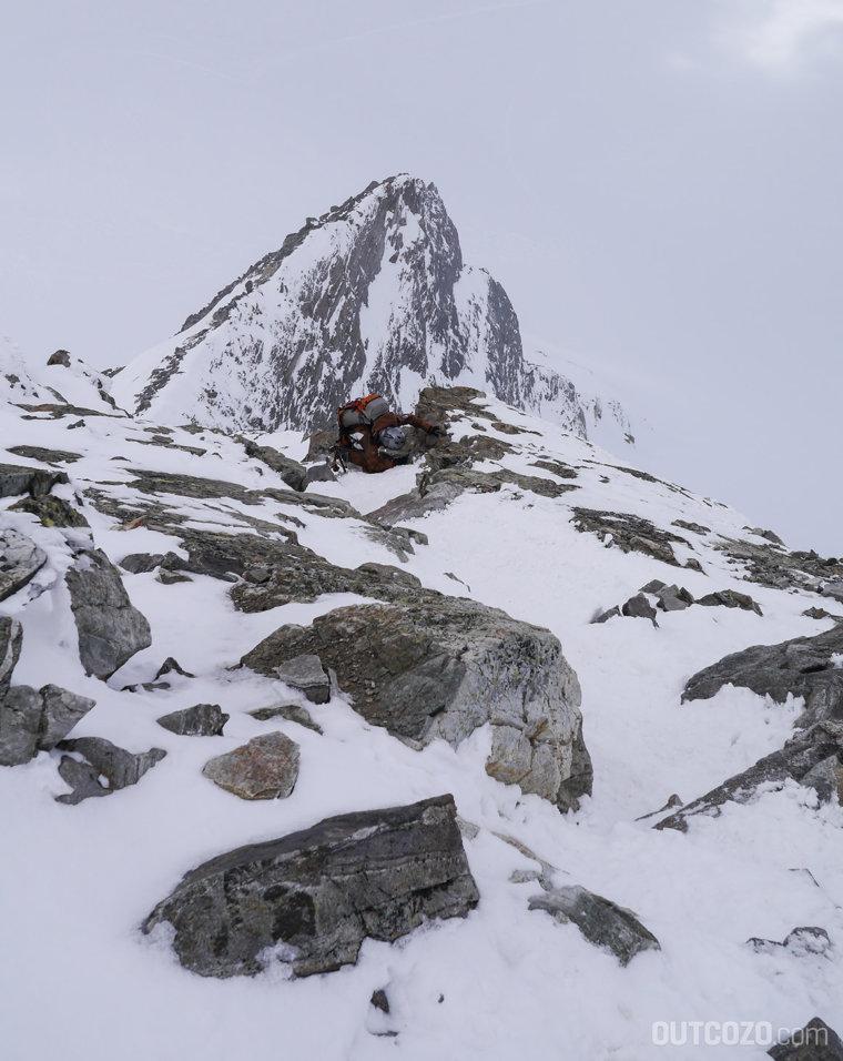 Klettern auf den Piz Buin