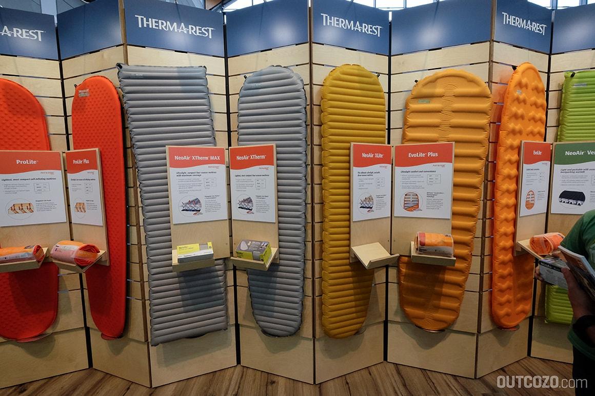 Neo-Air und co: die bekannten Therm-a-Rest Matten sind weiterhin verfügbar