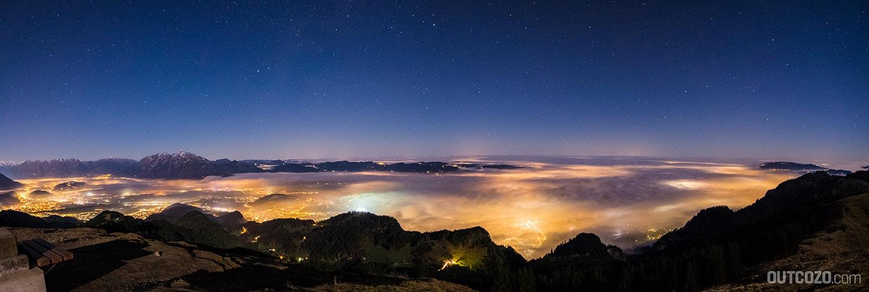 Nebelmeer über Vorarlberg