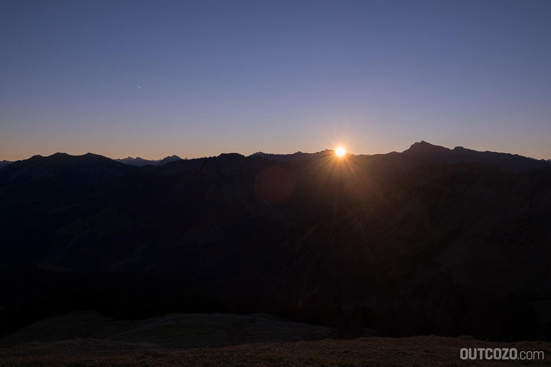 Sonnenaufgang Hohe Kugel