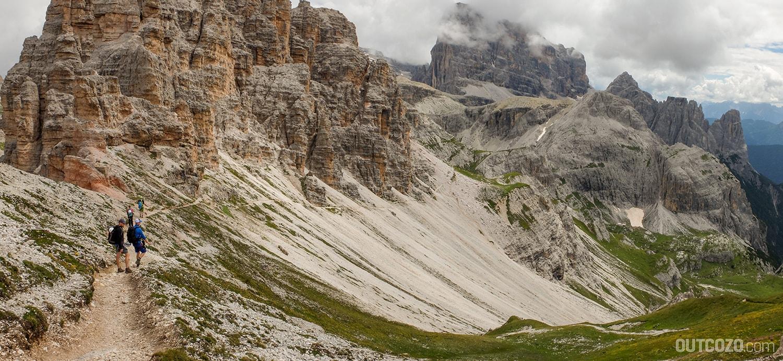 Wanderweg Büllelejochhütte