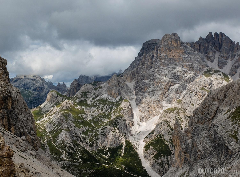 Dolomiten Schattenspiel