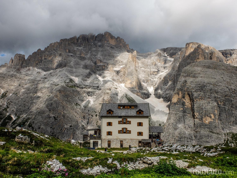 Zsigmondyhütte Dolomiten