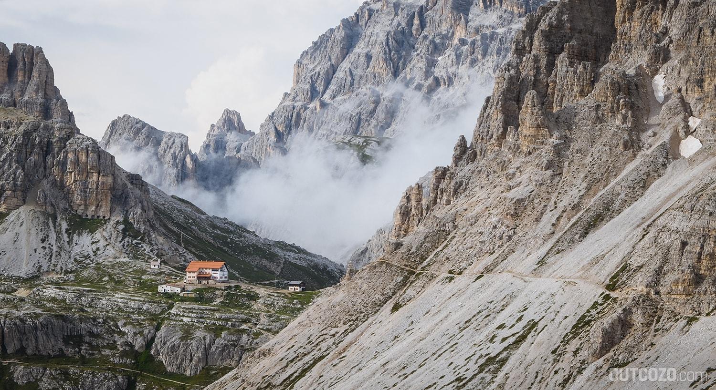drei-zinnen-hütte Dolomiten