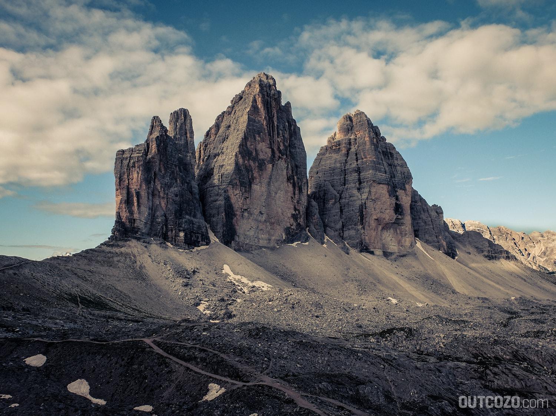 Klettersteig Drei Zinnen : Klettersteig tour rund um die drei zinnen outcozo