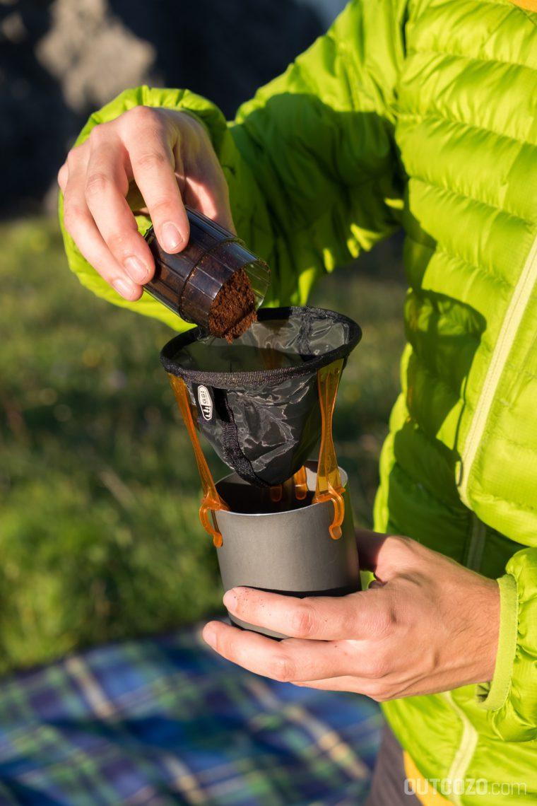 GSI Javamill frischer Kaffee