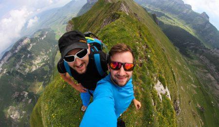 Ausgesetzter Grat Marwees im Alpstein