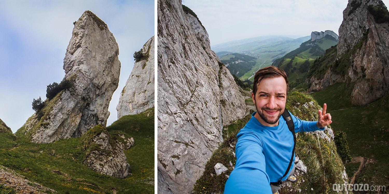 Marwees Bogartenmannli Klettern