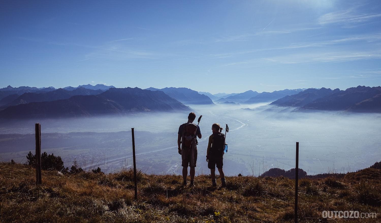 Ausblick Hoher Kasten Alp Läuischlatt