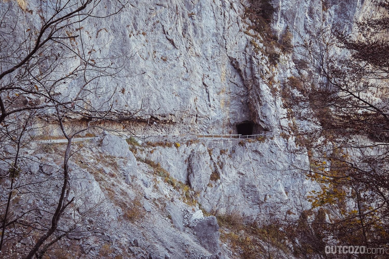 Tunnel Alpe Rohr Hoher Kasten