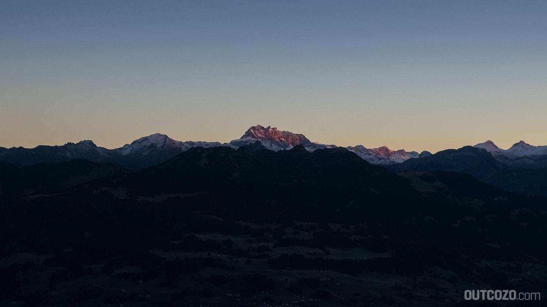 Rote Wand Vorarlberg Sonnenaufgang