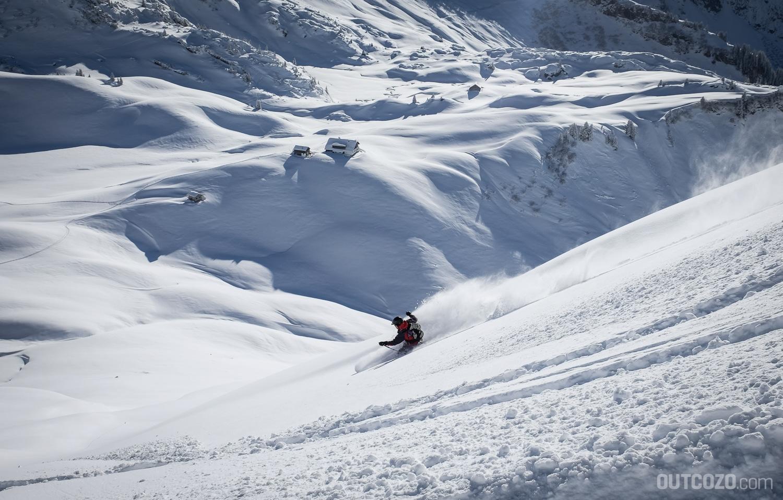 Skitour um die Biberacher Hütte