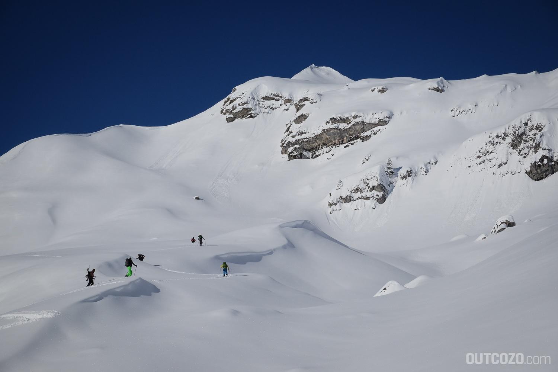 Aufstiegsspur Skitouren