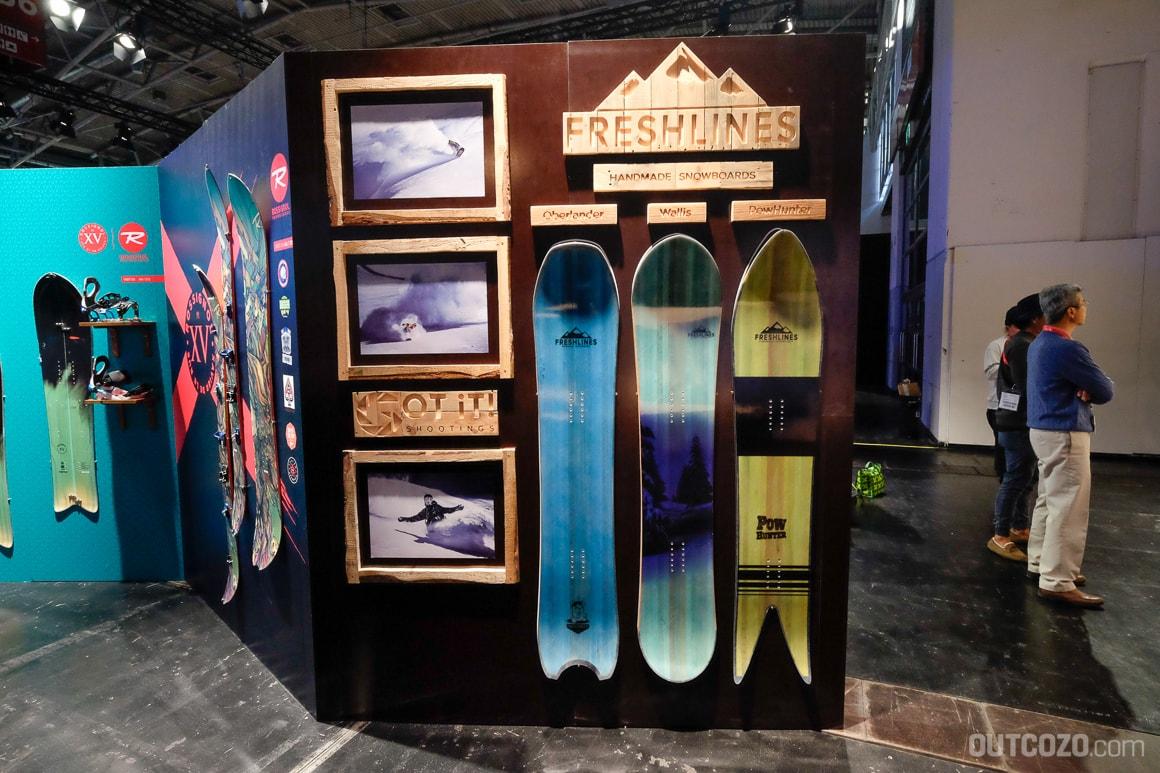 Freshlines Snowboards