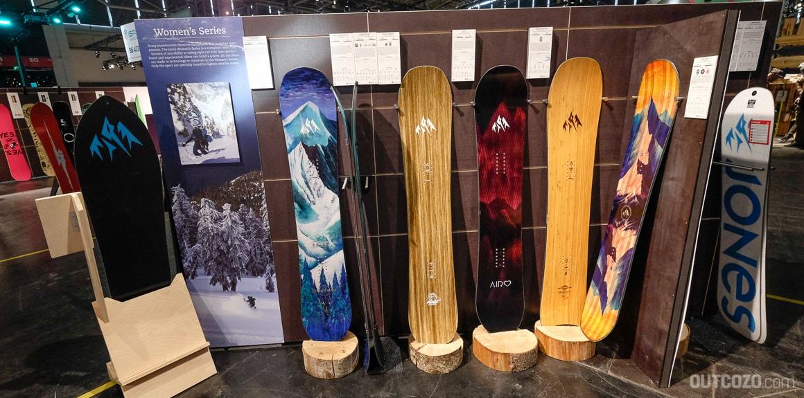 Jones Snowboard Frauen Variante