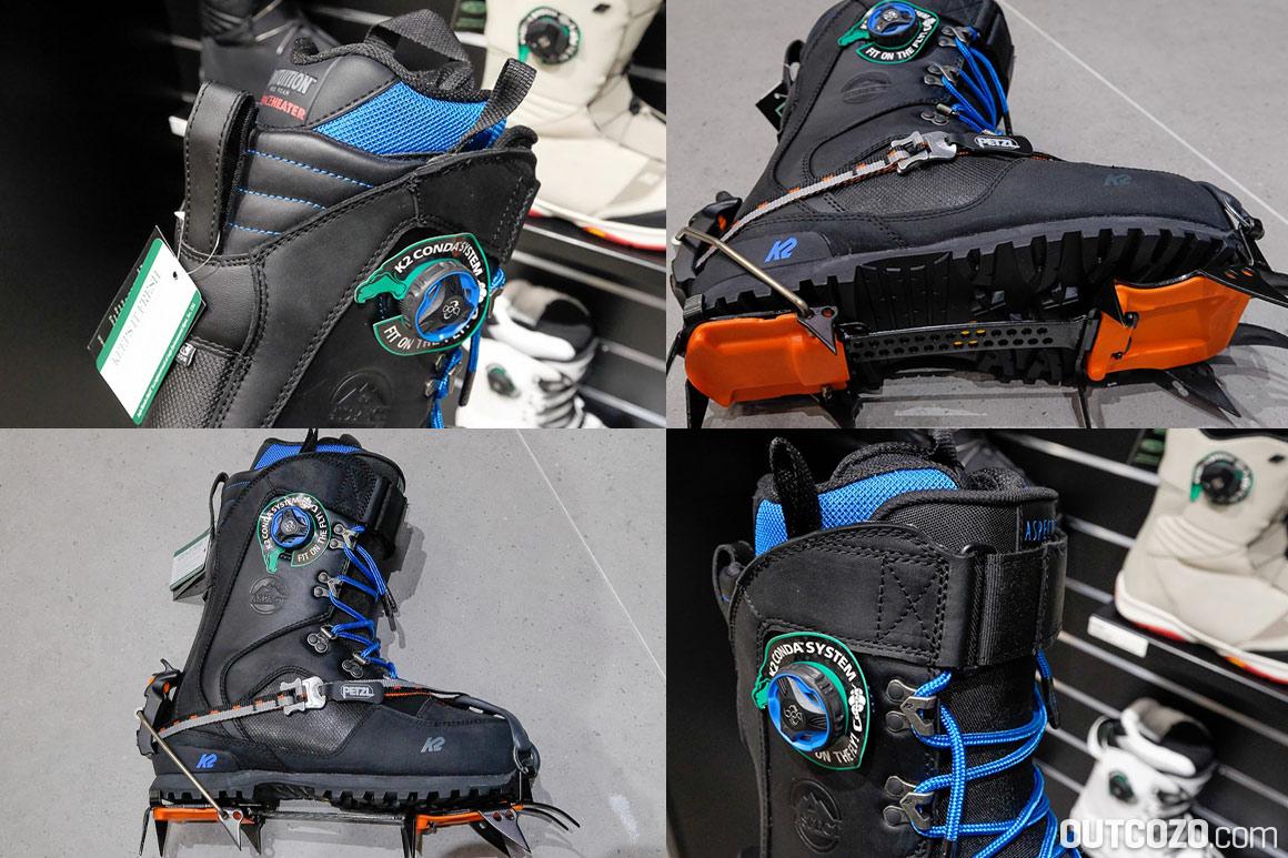 Steigeisenfester Splitboard-Schuh: K2 Aspect