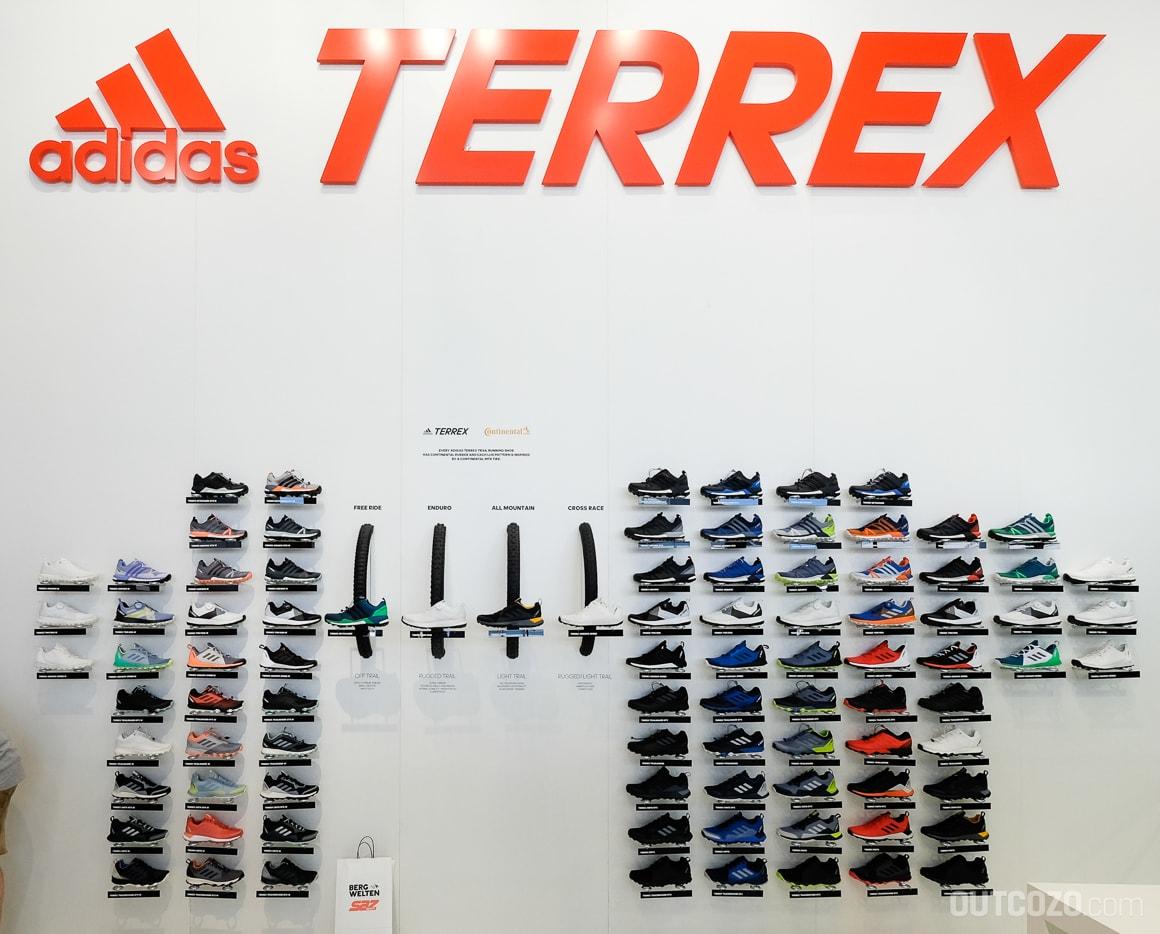 Adidas Terrex Trailrunning Modellpalette