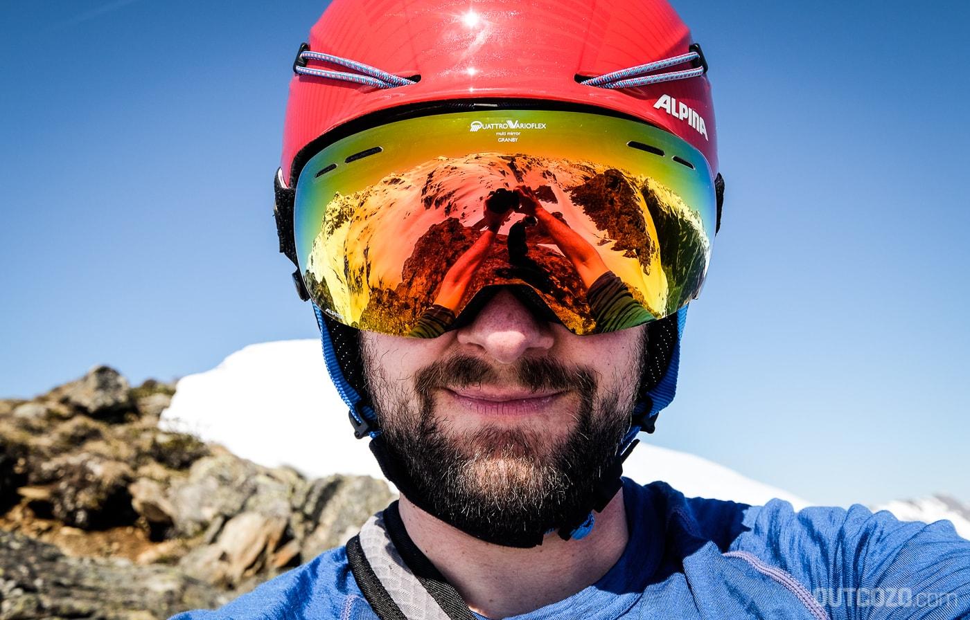 Großes Sichtfeld dank rahmenlosem Design bei der Alpina Granby QVMM