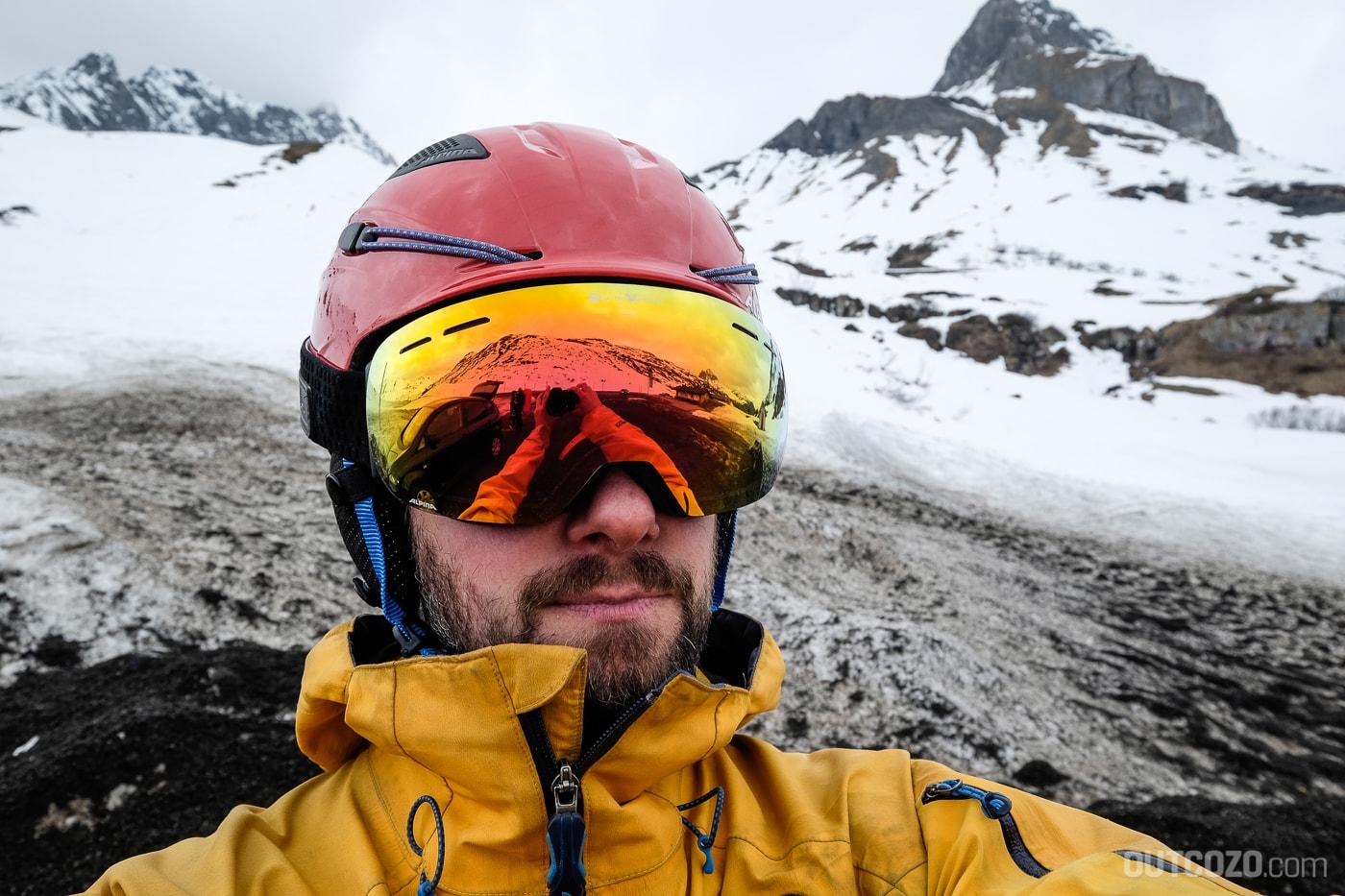 Alpina Granby QVMM bei Bewölkung ist die Sicht nicht ideal