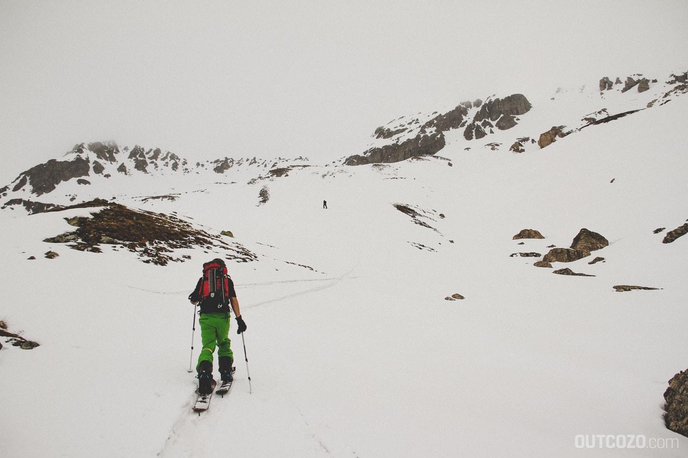 Splitboardtour im Nebel