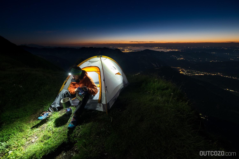 Im Zelt auf der Kanisfluh übernachten