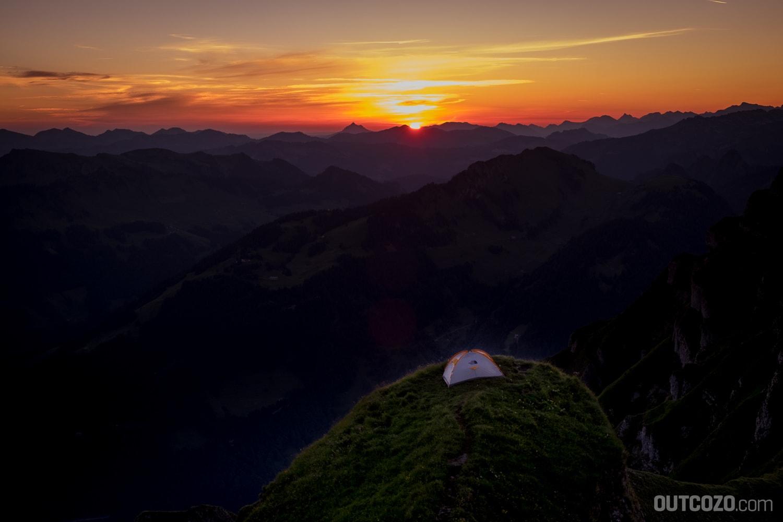 Sonnenaufgang auf der Kanisfluh