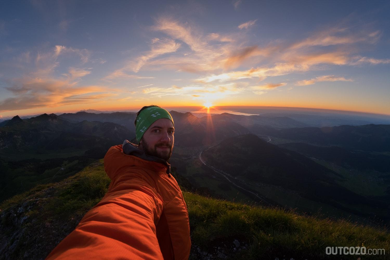 Kanisfluh Sonnenuntergang