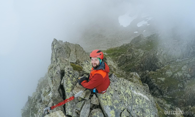 Alpina Snow Tour im Klettersteig