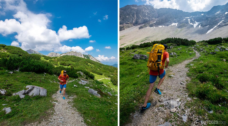 Trailrunning durch das Zalimtal zur Schesaplana