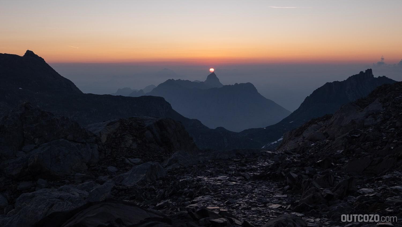 Sonnenaufgang Zimba